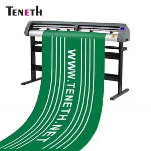 Teneth best selling products 1.3m Cutting plotter de core / die cut machine