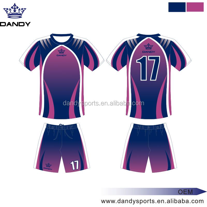3e136bb4971 custom football team uniform design your own soccer jersey 100% polyester