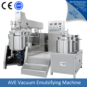 Pharmaceutical ointment emulisifier,vacuum emulsifying mixer,blending machine for cream