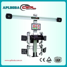 Classical Wheel Aligner with 3D-Tech Compensation 3D wheel alignment