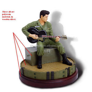 Promotional miniature Elvis toy polyreisn figurines
