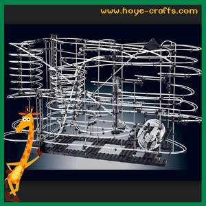 Educational value roller coaster kit space rail as Christmas gifts for students children adults