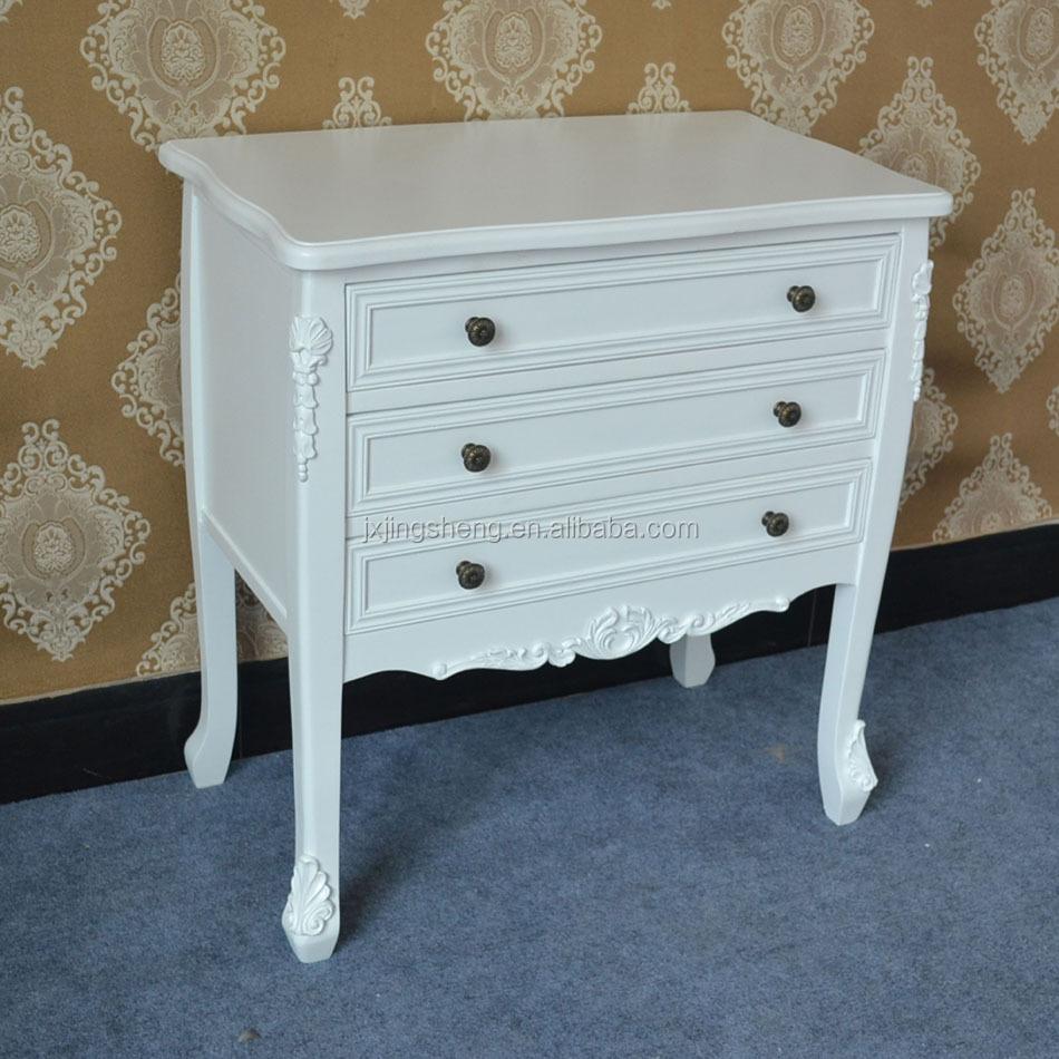 White Kitchen Dresser Unit Ivory Cupboard Storage Shabby Cabinet Kitchen Bathroom Wooden Unit