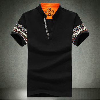 big size mens t shirt plus size 6xl 8XL Polyester cotton Big-tall 2 Button Jacquard mens polo t shirt