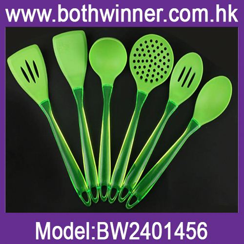 silicone cooking tools solid serving kitchen utensils ,KA040, silicone kitchenware utensil set