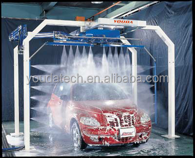 Drive Through Tunnel Car Wash Systems
