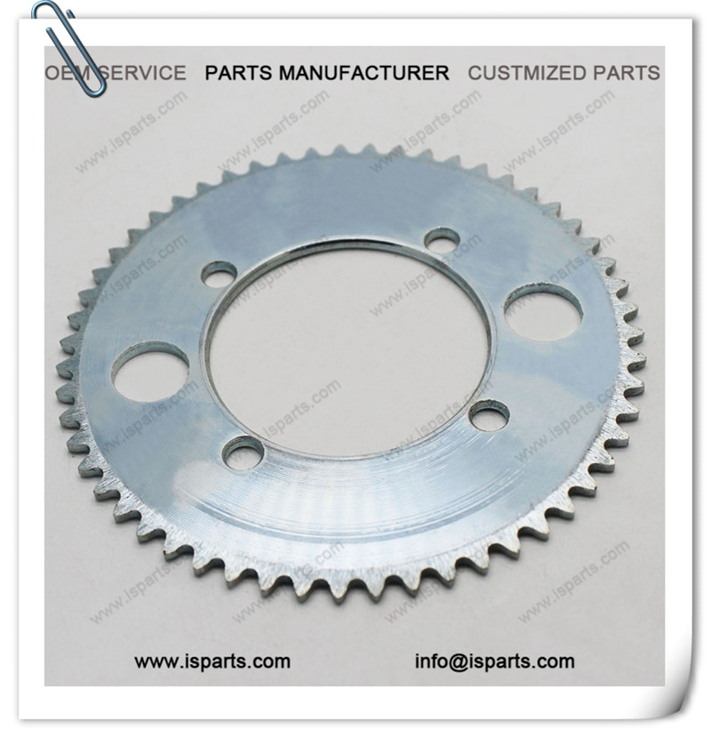 Scooter Parts 55T Sprocket 25H Chain Drive Plate Steel Sprocket