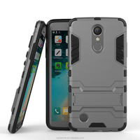 Hot Products Hybrid PC TPU Armor Iron Man Rugged Kickstand Case For LG K8