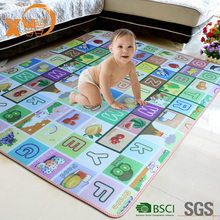 Baby crawling playmat gym, children kids play mat, en71 waterproof baby play mat with sides