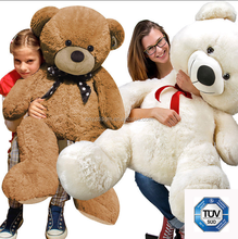 TUV certificate plush bear toy for 80cm/120cm140cm/160cm 200cm/big size teddy bear toy/bear toys skin