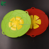 Wholesale Petal Pot Boil Silicone Spill Stopper Lid Cover