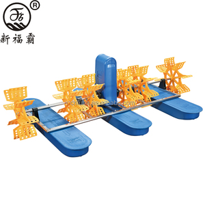 Hot Selling 1.5kw Pond Aerator and Paddlewheel Aerator with 6 Wheels from China