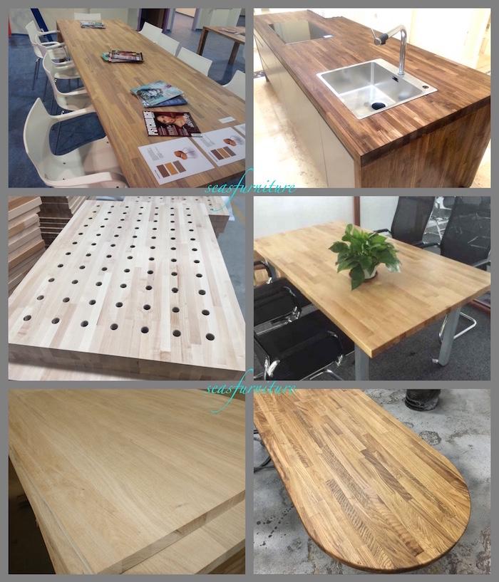 Neues design tiger wood tabletops for Designer tischplatten