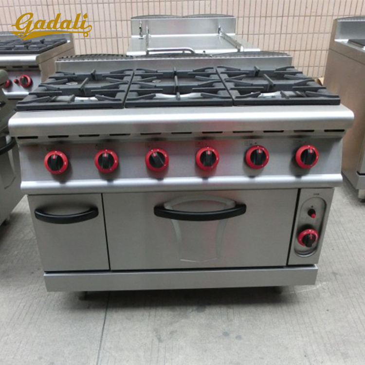 2016 hot sale 6 burner gas cooker(ZQW-889D700)
