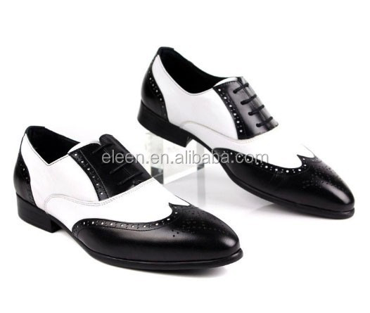 and leather dress white shoes black latest men 2014 wqPIE8c