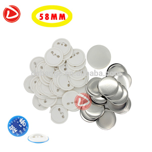 Badge machine makers Badge Material of 58mm pin button badge componets Factory direct sale
