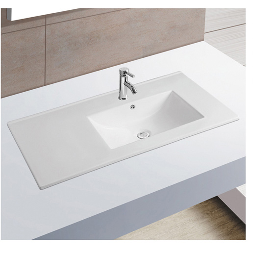 36 inch 910mm #9090EL ceramic rectangular ceram bathroom cabinet hand wash basin sink set,wash basin designs for dining room