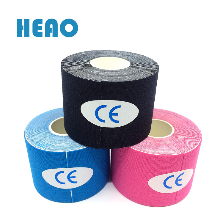 Colorful Cotton 5cm Medical Kinesiology Sports Tape