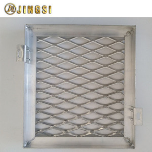Light Expanded Metal Mesh Sheet With Welded Frame