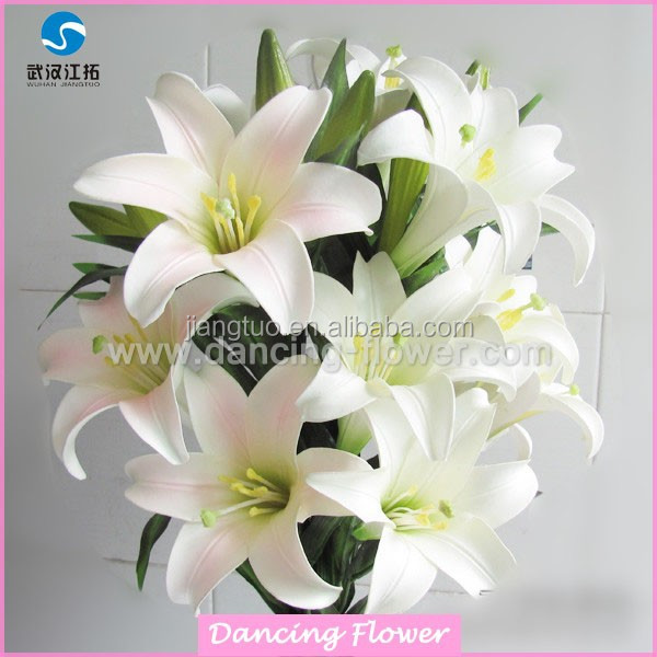 Attractive decorative artificial PU flowers for wedding (AF-69)