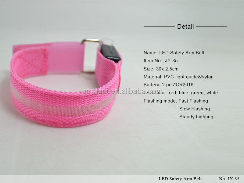 Figure_LED Safety Arm Belt_JY-35_1