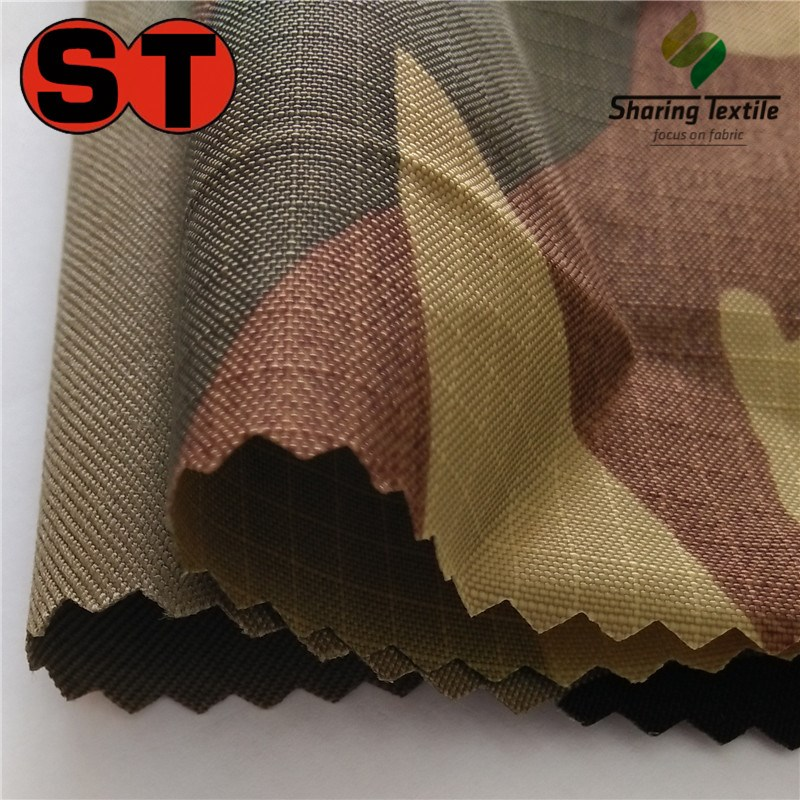 Manufacture Directly 500D Or 1000D Nylon66 Or Polyamide66 Cordura Camo Military&Army Workwear Garment And Jacket Fabric