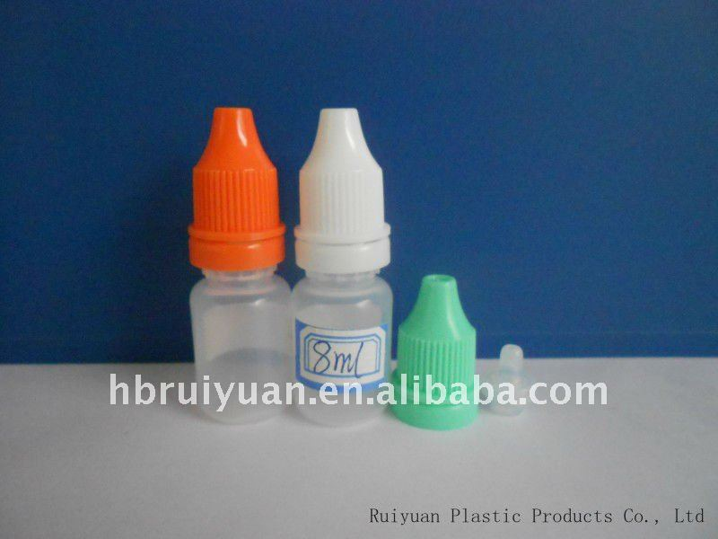Plastic Eye drop Bottle/Vial/Phials 8ml(Promotion)