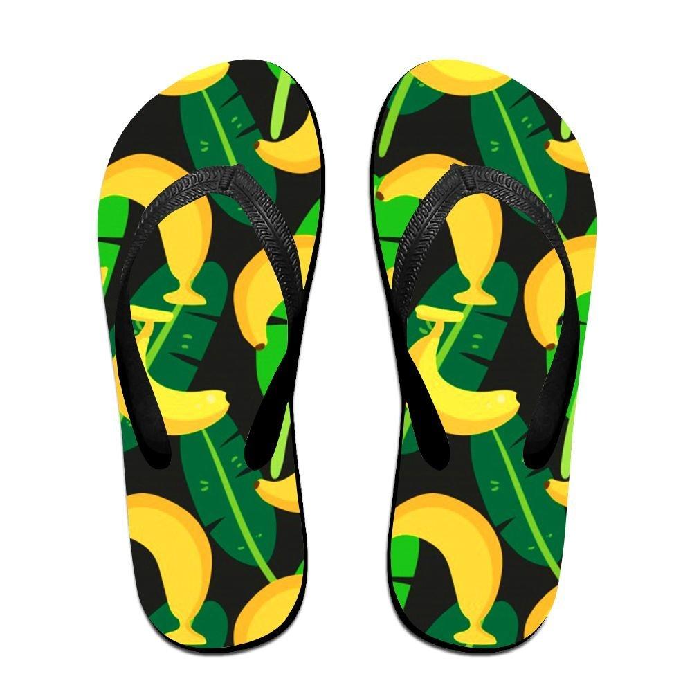 f3b43971a186a Get Quotations · Tropical Banana Men Summer V Flip Flops Thong Sandal Beach  Slipper Beach Shoes