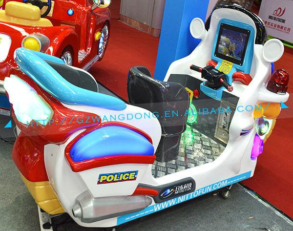 good velocidad moto paseos kiddie mquinas de juegos de arcade policia arcade coche para la venta