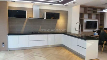 2017 Selling the best quality cost-effective products mordern lacquer kitchen cabinet