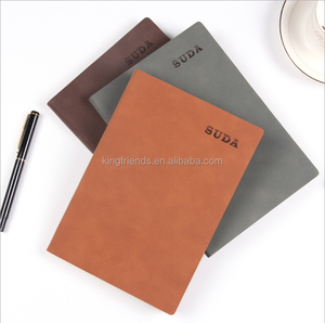 Business vintage leather notebook office stationery notebook