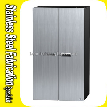 Custom Made Stainless Steel Wardrobes