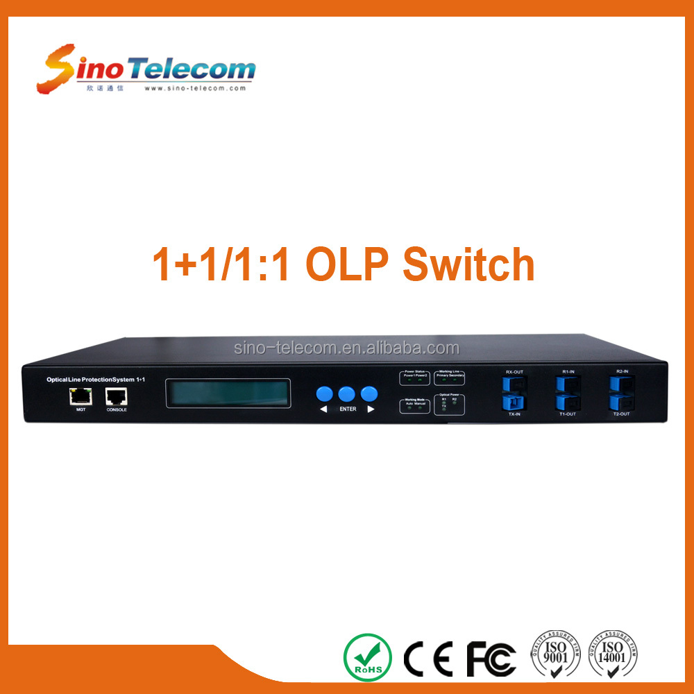 Sino-Telecom 1+1 Optical Switch Device for SDH System