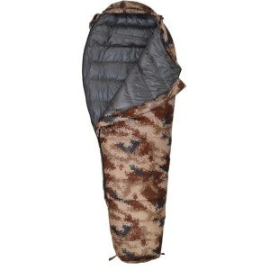 Lightweight winter camping military routman duck down sleeping bag