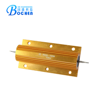 Gold Aluminum Housed wire-wound power resistor RX24 resistor capacitor