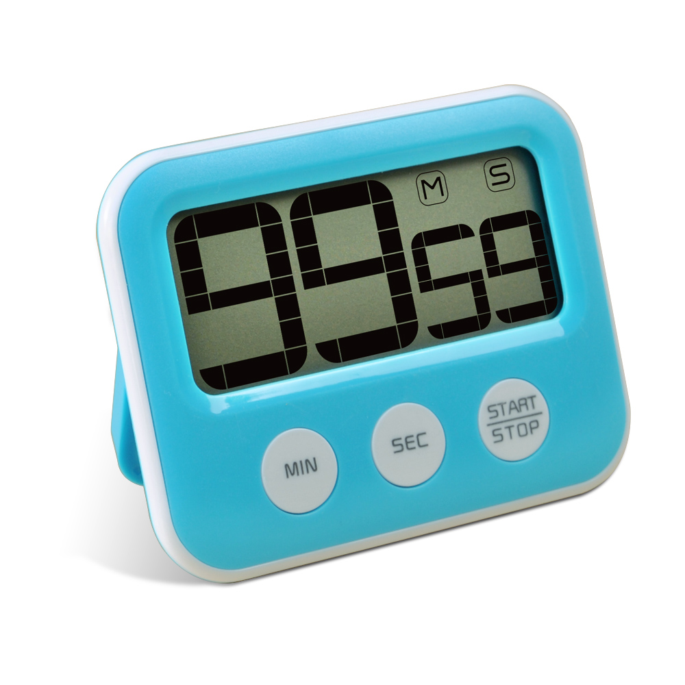 Strong Magnetic Lcd Digital Kitchen Timer Clock And Cooking ...