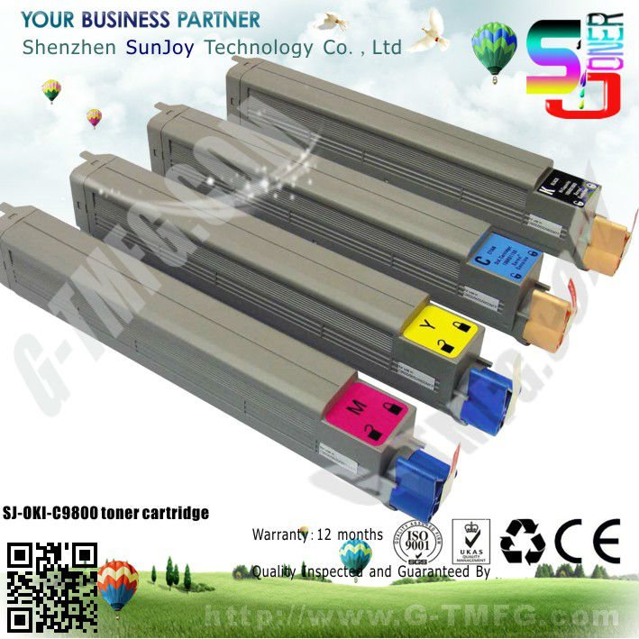 New Compatible Toner cartridge for OKI C9800