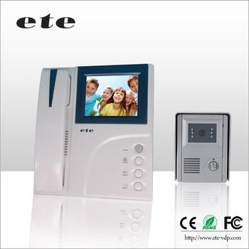 Home Security Alarm System 2 4g Digital 4 Tft Wireless Apartment Video Doorphone Intercom
