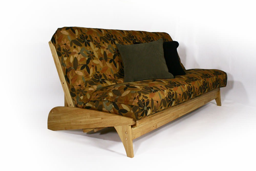 Get Quotations Dillon Natural Full Wall Hugger Futon Frame By Strata Furniture
