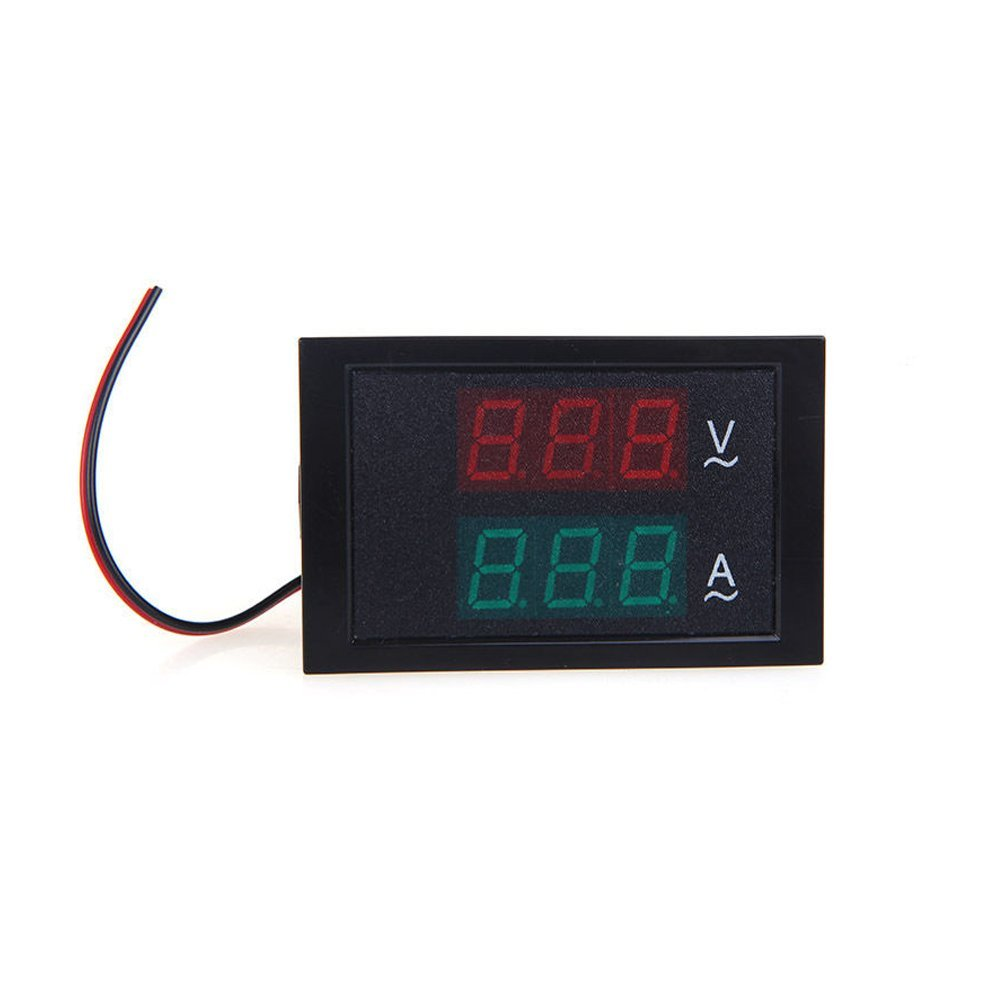 Cheap Ammeter Gauge Find Deals On Line At Alibabacom 8n Ford 12v Wiring Get Quotations Solu Digital Led Ac Voltmeter Panel Amp Volt 80 300v 100a Dual