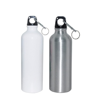 Blank Sublimation Transfer Printing Aluminum Sports Water Bottle With CE FDA Certification