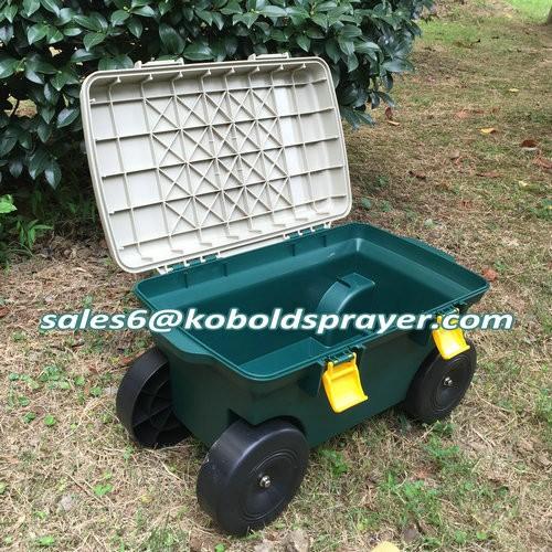 New Arrival Plastic Garden Seat Cart Buy Garden Cart