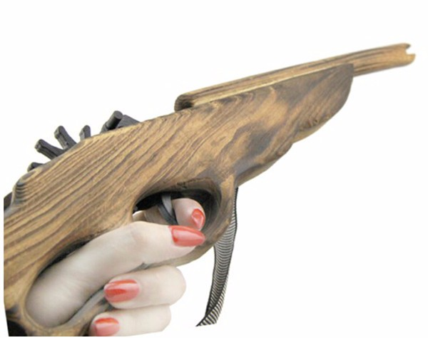 how to make a wooden toy gun