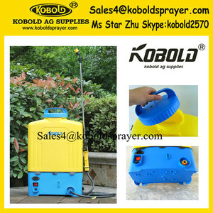 4.5gallon KOBOLD Backpack Battery pump sprayer