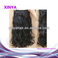 The most fashion popular style Loose wavy virgin hair wholesale supplier from india