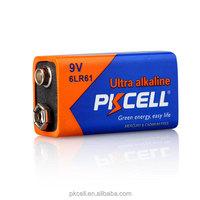 Online buy wholesale high performance alkaline battery 9v 6lr61 from shenzhen