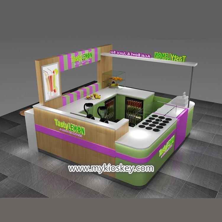 fresh juice bar kiosk