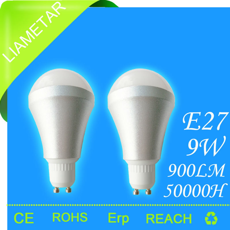 HOT GU10 900lm 9W SMD LED heat resistant light bulbs