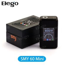 temp control mod smy 60tc mini smy60 TC 7- 60w box mod, OEM welcomed