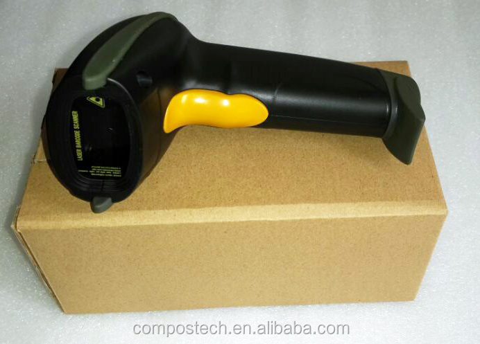 Wholesale 2015 New Handheld Laser 2.4G Wireless barcode Scanner
